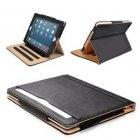 Black & Tan Apple iPad 10.9 iPad Air 4 (2020-2021) Leather Case - MOFRED® NEWEST IPAD TABLET
