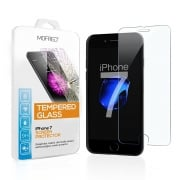 MOFRED® 2 x iPhone 7 Tempered Glass Shatterproof Screen Protector