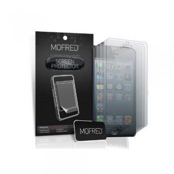 Mofred® Apple iPhone 5/5s Screen Protector Front and Back