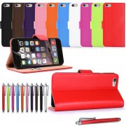 "Apple iPhone 6 (5.5"") Leather Wallet Case"