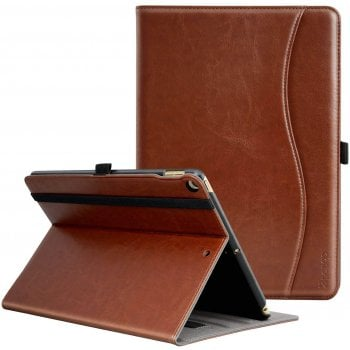 Mofred® MOFRED Brown premium business leather case IPAD AIR 1,