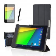 Google Nexus 7 2 II Tablet (Launched July 2013) Smart Trifold Case