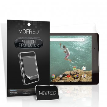 Mofred® Google Nexus 9 Gen 2014 Tablet (6 in a pack) Screen Protector Pack