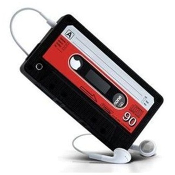 Mofred® IPHONE 5/5s/5c RETRO CASSETTE SILICONE CASE