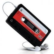 IPHONE 5/5s/5c RETRO CASSETTE SILICONE CASE