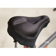 MOFRED® BLACK BIKE BICYCLE EXTRA COMFORT SOFT GEL SEAT SADDLE CUSHION COVER