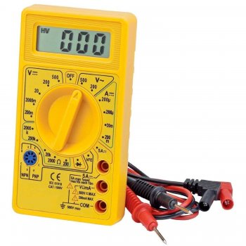 Mofred® DIGITAL MULTIMETER CIRCUIT TESTER - MULTITESTER VOLTMETER TESTER ELECTRICIANS