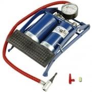 MOFRED® Double Cylinder Pump Air Inflator Foot Pump Car Van Bicycle Bike Tyre