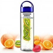 Red Sports Health Fruit Infusing Water Bottle-BPA Free