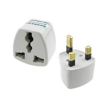 Mofred® US / EU / AU Multi-pins To UK AC Power Plug Travel Adapter