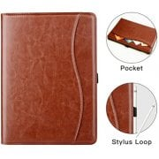 Premium leather Business Stand Folio Cover for ipad (2013-2014 Version) Leather Case - MOFRED®