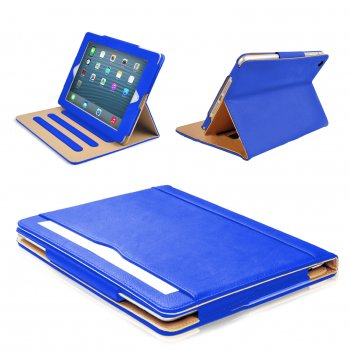 Mofred® Premium leather Business Stand Folio Cover for ipad (2013-2014 Version) Leather Case - MOFRED®